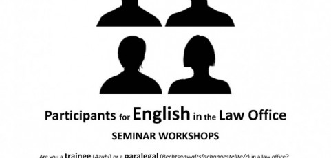 Seminar Workshop: Legal English in the Law Office